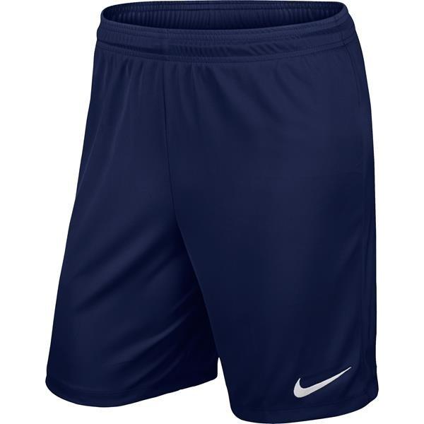 Nike Park II Knit Short Midnight Navy/White