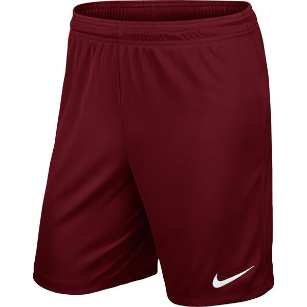 Nike Park II Knit Short Team Red/White