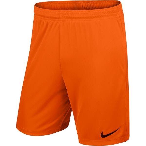 Nike Park II Knit Short Safety Orange/Black