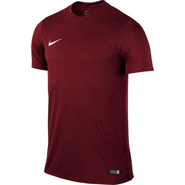 Nike Park VI SS Football Shirt Team Red/White
