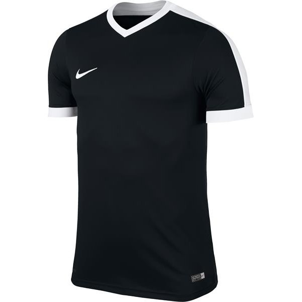Nike Striker IV Short Sleeve Football Shirt Black/white