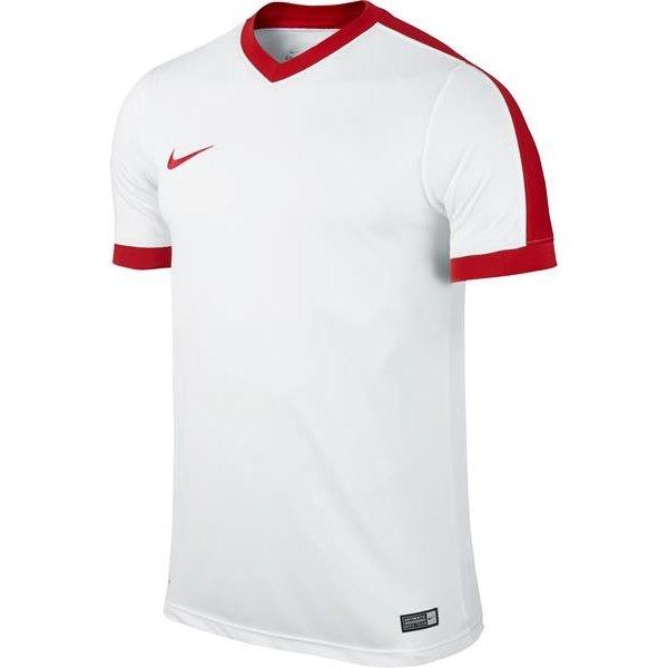 Nike Striker IV Short Sleeve Football Shirt White/University Red