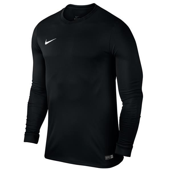 Nike Park VI LS Football Shirt Black/White XL Youths