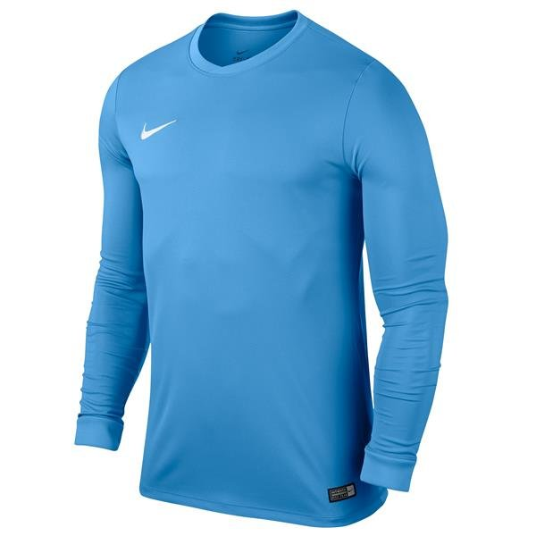 Nike Park VI LS Football Shirt University Blue/White Youths