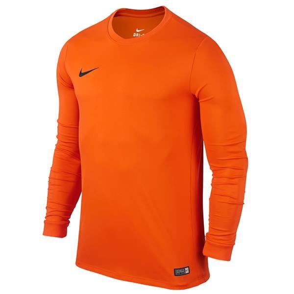 Nike Park VI LS Football Shirt Safety Orange/Black Youths