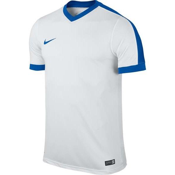 Nike Striker IV SS Football Shirt White/Royal Blue Youths