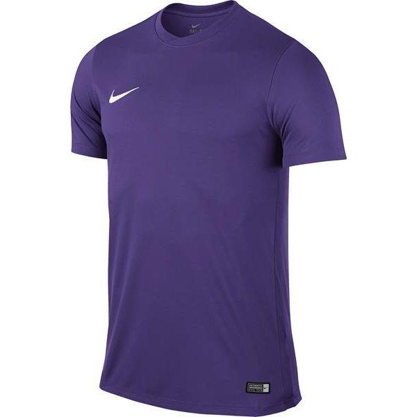 Nike Park VI SS Football Shirt Court Purple/White Youths