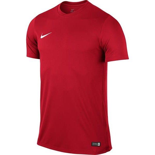 Nike Park VI SS Football Shirt University Red/White Youths