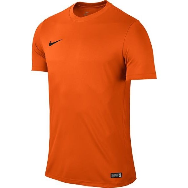 Nike Park VI SS Football Shirt Safety Orange/Black Youths