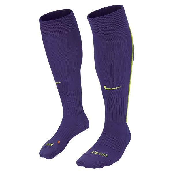 Nike Vapor III Purple/Volt Football Sock