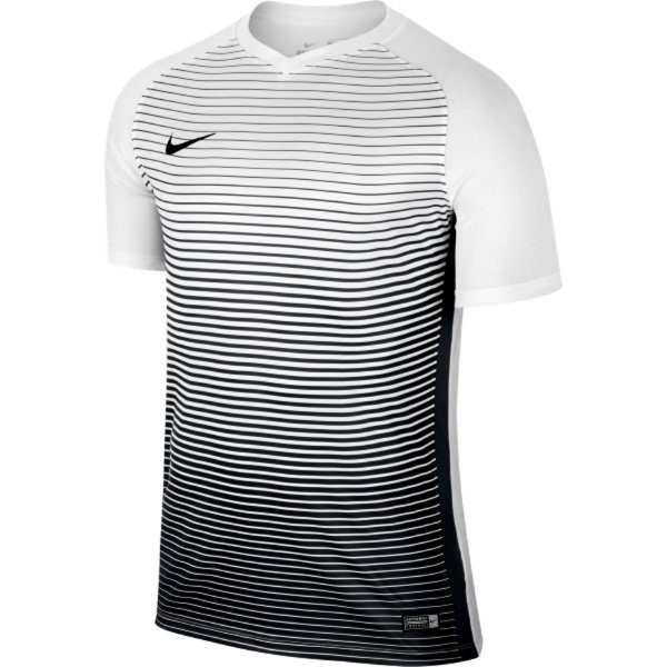 Nike Precision IV Short Sleeve Football Shirt White/black