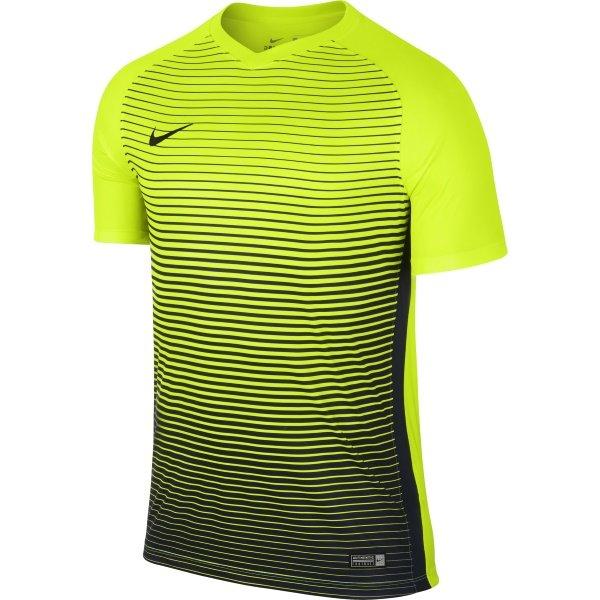 Nike Precision IV SS Football Shirt Volt/Midnight Navy
