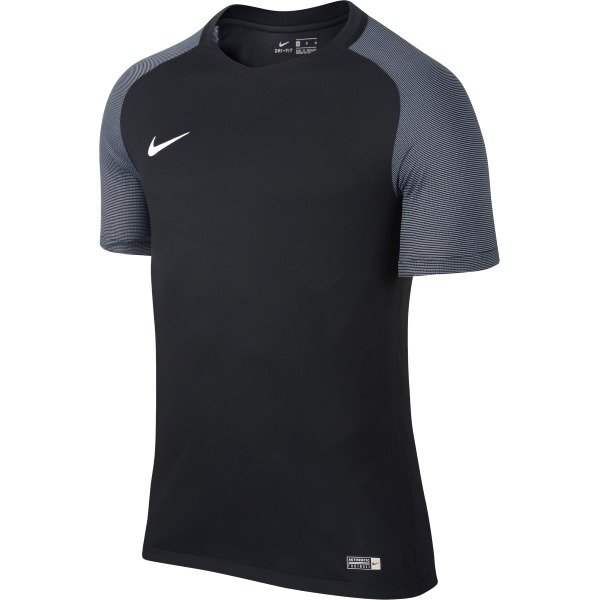 Nike Revolution IV SS Football Shirt Black/white