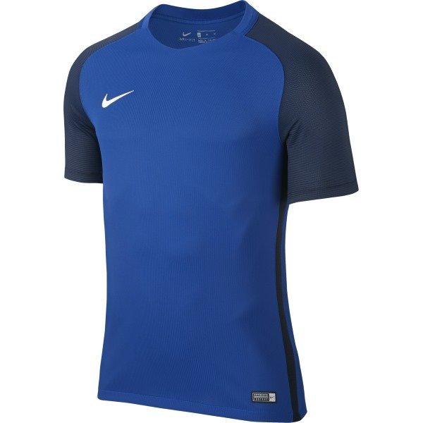Nike Revolution IV SS Football Shirt Royal Blue/Black