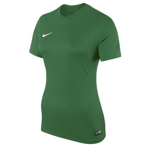 Nike Park Womens Football Shirt Pine Green/White