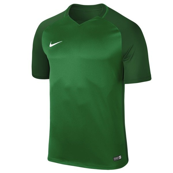 Nike Trophy III SS Football Shirt Pine Green/Gorge Green