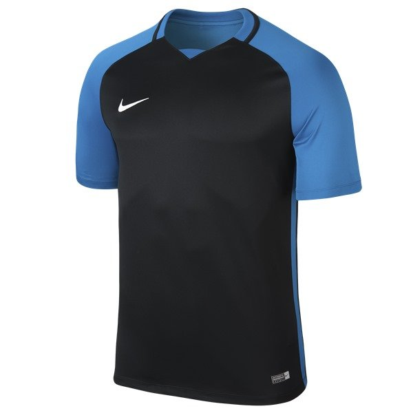 Nike Trophy III SS Football Shirt Mid Navy/Lt Photo Blue