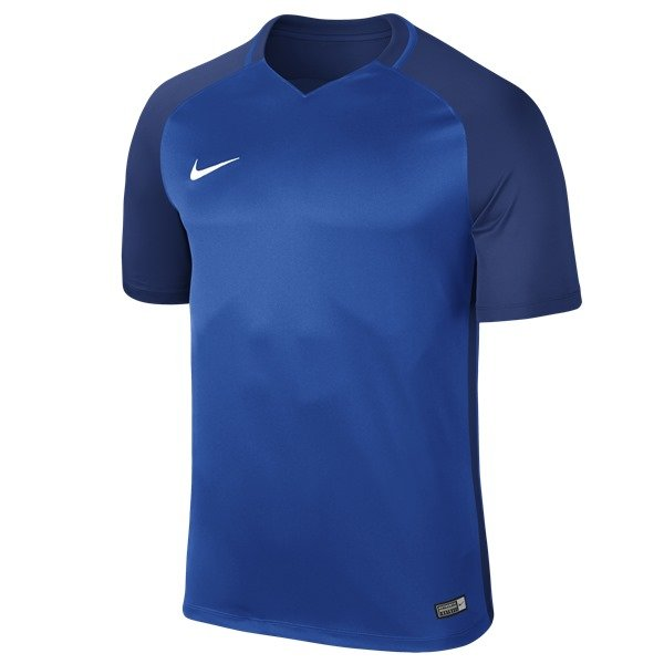 Nike Trophy III SS Football Shirt Royal Blue/Deep Royal Blue