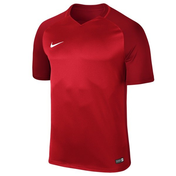 Nike Trophy III SS Football Shirt University Red/Gym Red
