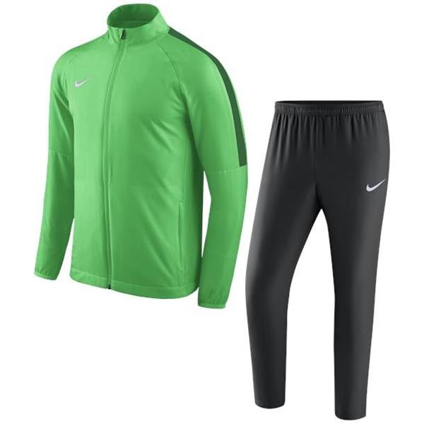 Nike Academy 18 Woven Track Suit Green Spark/Pine Green