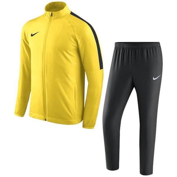 Nike Academy 18 Woven Track Suit Tour Yellow/Anthracite