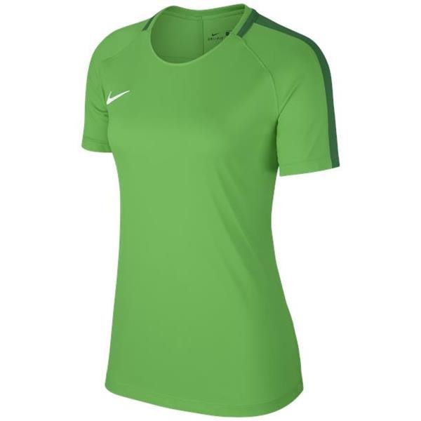 Nike Womens Academy 18 Green Spark/Pine Green Training Top