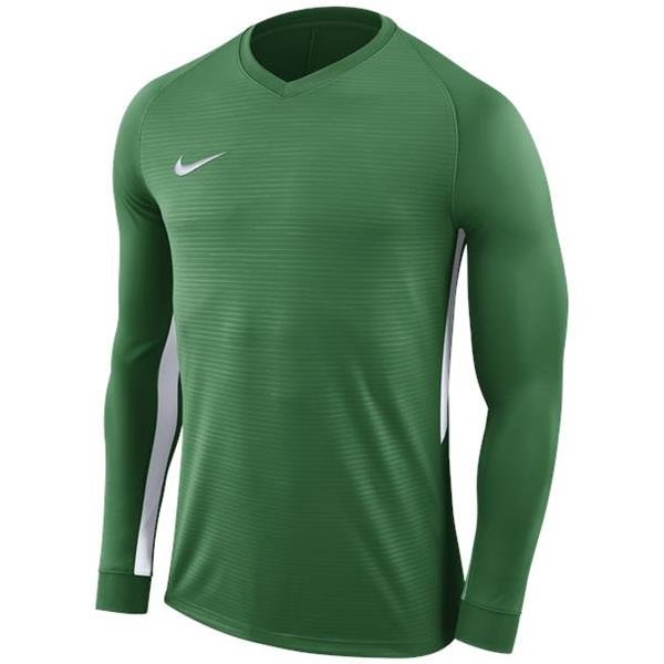 e605246fd Nike Tiempo Premier LS Football Shirt Pine Green White