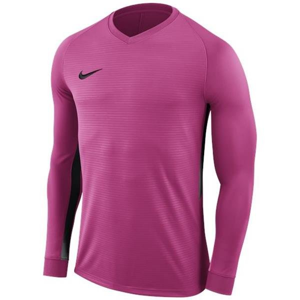 Nike Tiempo Premier LS Football Shirt Vivid Pink/Black