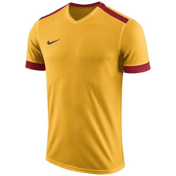 97e0c391daa9 Nike Park Derby II Uni Gold Uni Red SS Football Shirt