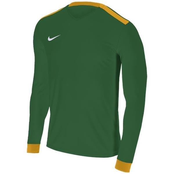 Nike Park Derby II Pine Green/Uni Gold LS Football Shirt