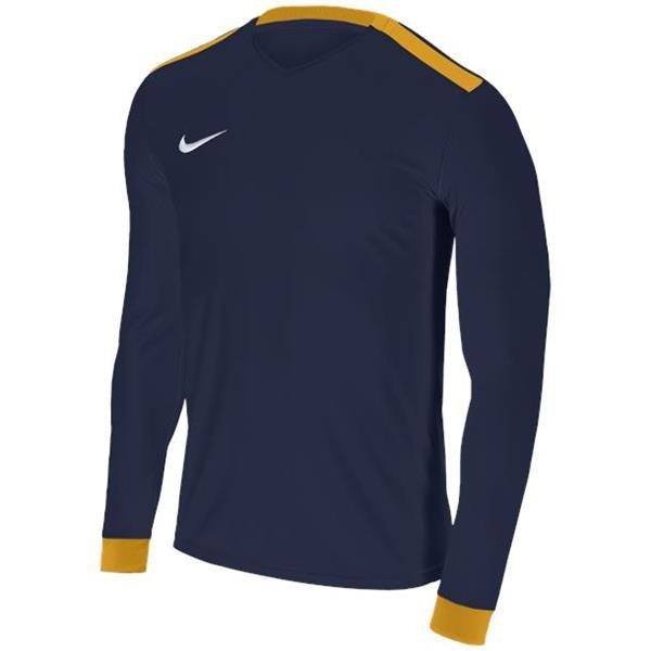 Nike Park Derby II Midnight Navy/Uni Gold LS Football Shirt