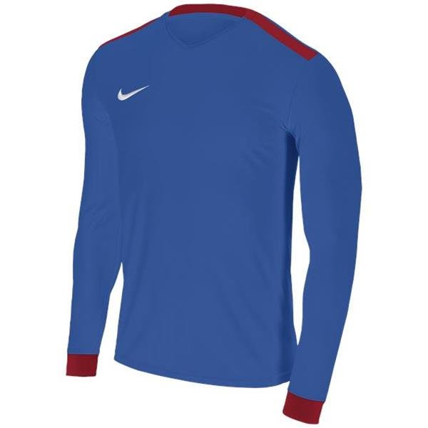 Nike Park Derby II Royal Blue/Uni Red LS Football Shirt