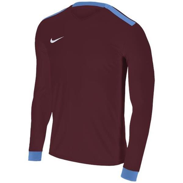 Nike Park Derby II Team Red/Uni Blue LS Football Shirt