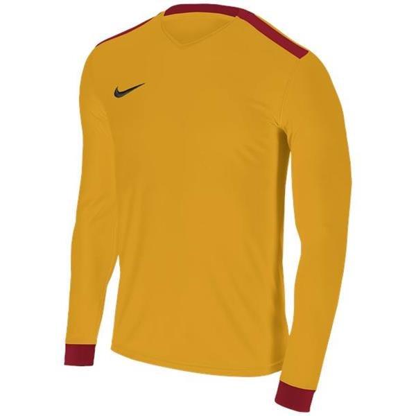 Nike Park Derby II Uni Gold/Uni Red LS Football Shirt