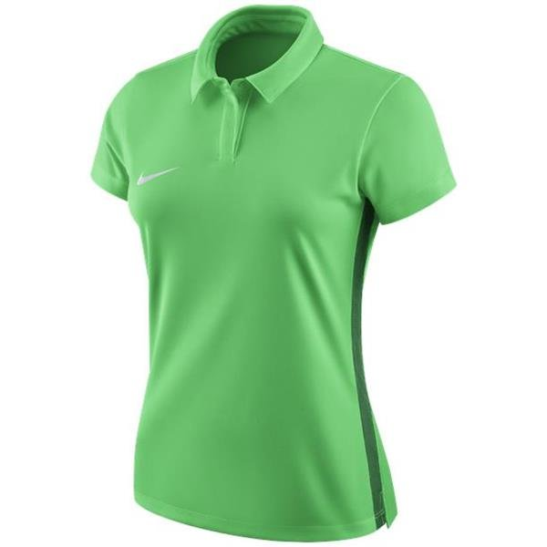 Nike Womens Academy 18 Green Spark/Pine Green Polo