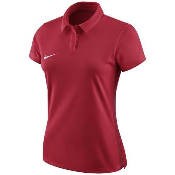 Nike Womens Academy 18 University Red/White Polo