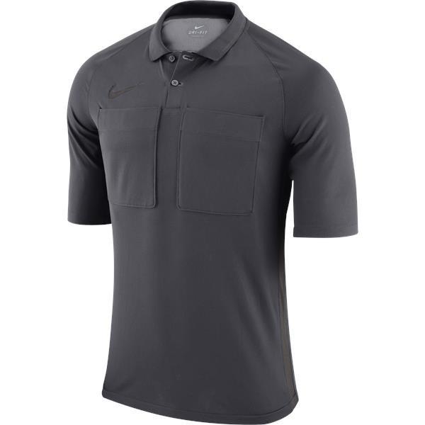 Nike Team Referee Jersey Short Sleeve Anthracite/Grey