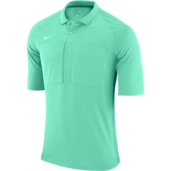 Nike Team Referee Jersey Short Sleeve Hyper Turq/Green