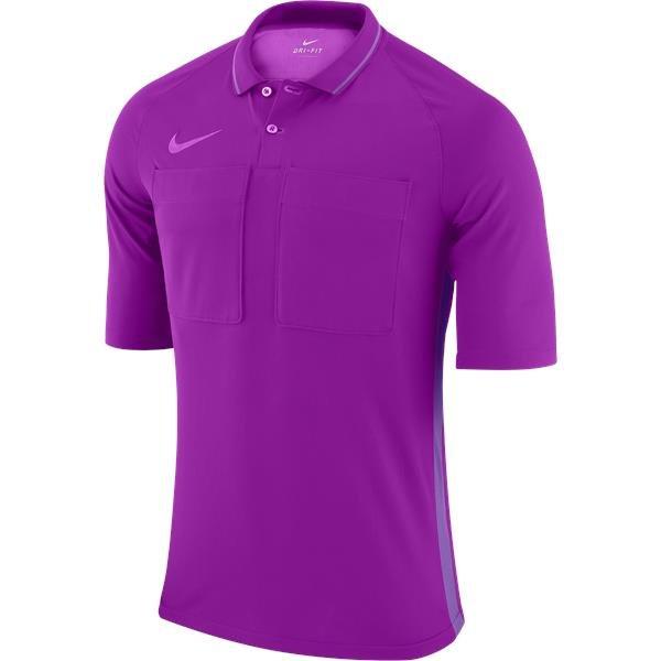 Nike Team Referee Jersey Short Sleeve Purple/Violet