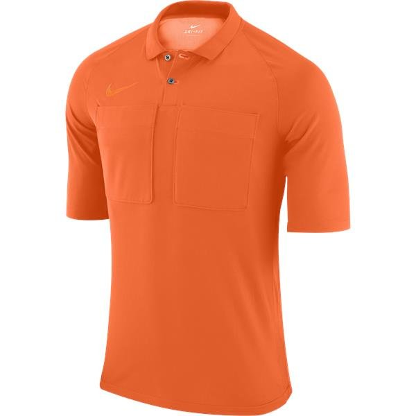 Nike Team Referee Jersey Short Sleeve Safety Orange/Total Orange