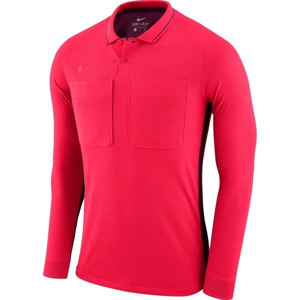 5a1d94ec0f6 Nike Team Referee Jersey Long Sleeve Siren Red/Bordeaux