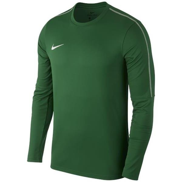 Nike Park 18 Pine Green/White Drill Top Crew Youths