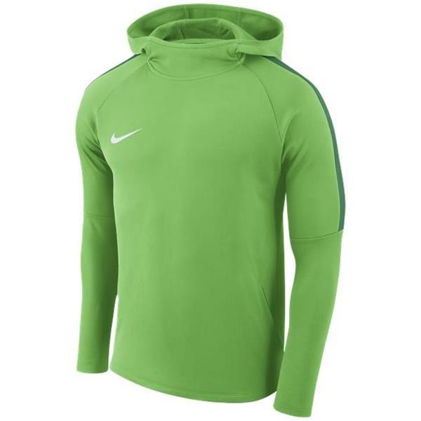 Nike Academy 18 Hoody Green Spark/Pine Green