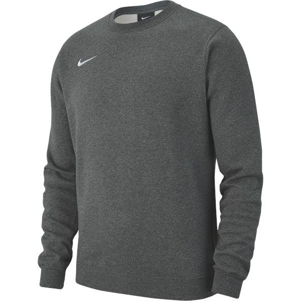 Nike Team Club 19 Crew Charcoal/White
