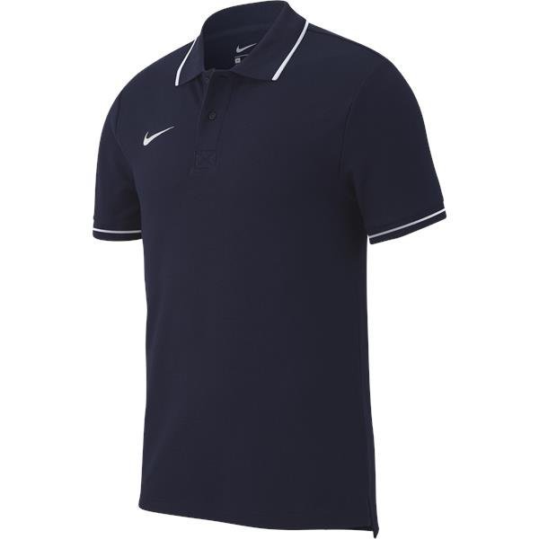 Nike Team Club 19 Polo Obsidian/White