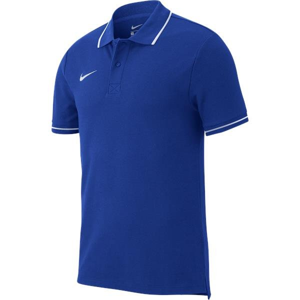 Nike Team Club 19 Polo Royal Blue/White