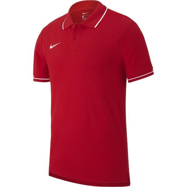 Nike Team Club 19 Polo University Red/White