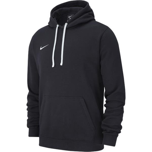 Nike Team Club 19 Hoodie Black/White