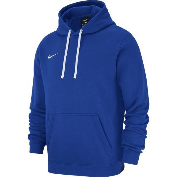Nike Team Club 19 Hoodie Royal Blue/White