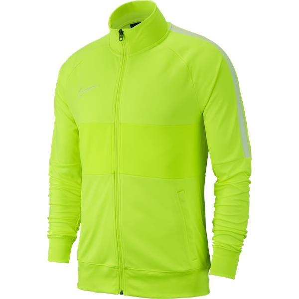 Nike Academy 19 Knit Track Jacket Volt/White